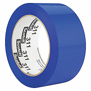 Polypropylene Packaging Tape, Acrylic Adhesive, 2.10 mil Thick, 48mm X 100m