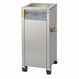 Ultrasonic Cleaner, Industrial Type, Tank Capacity: 13 gal., Timer Range: 1 to 30 min.
