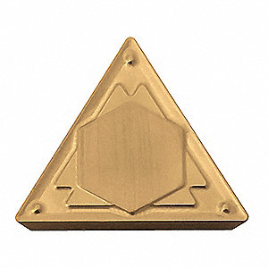 Triangle Turning Insert, TPMR, 222, HQ-CA510