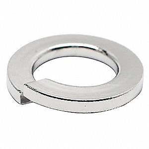 Split Lock Washer,Bolt M3,18-8 SS,PK100