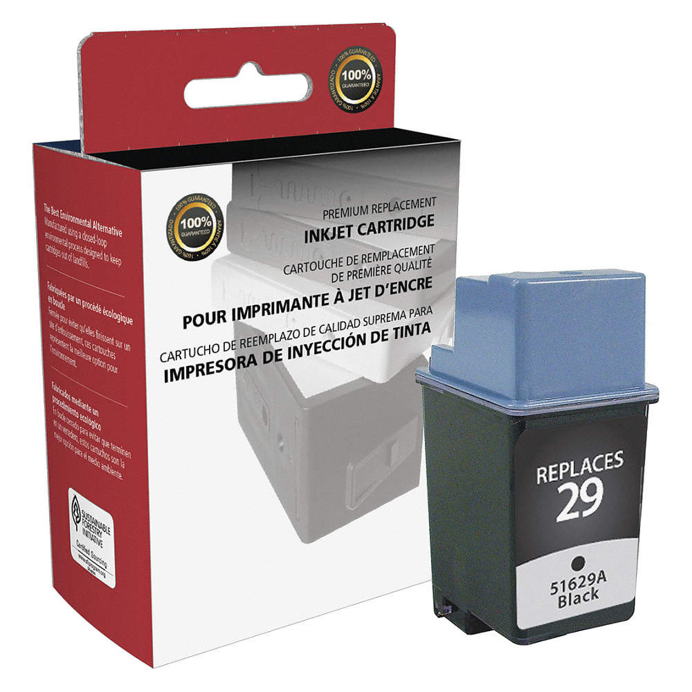 Clover Hp Ink Cartridge No 29 Black 53pf22 114576 Grainger Tinta 22 Zoom Out Reset Put Photo At Full Then Double Click