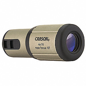 Monocular, Magnification 6X, Prism Roof