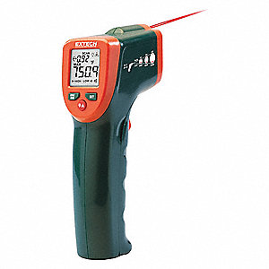 Infrared Thermometer,0.1 deg. F/C Res.