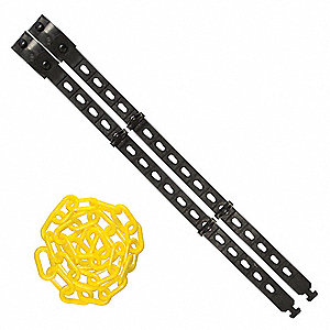"Connect Strap,Size 17"" x 25 ft.,Black"