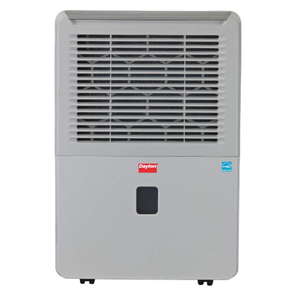 Dehumidifier, 70 pt  Capacity/24 Hrs  @ 60% RH, 12 7 pt  Bucket Capacity,  24-7/32