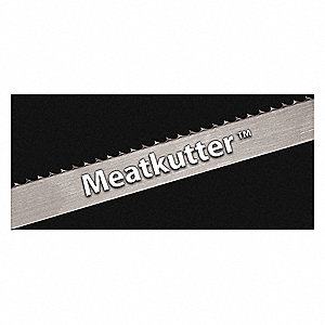 "16 ft. 7"" Carbon Steel Meat Cutter Band Saw Blade, 1"" Width, 24 PK"