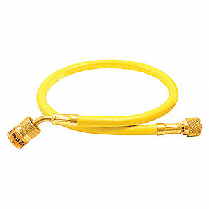 "Anti-Blowback Hose,Yellow,60"" L,800 psi"
