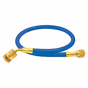 "Anti-Blowback Hose,Blue,60"" L,800 psi"