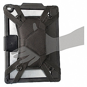 "Tablet Holster,Black,Plastic,8-7/8"" L"