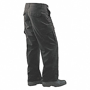 "Women's Tactical Pants. Size: 2, Fits Waist Size: 26"" to 27"", Inseam: 35"", Black"