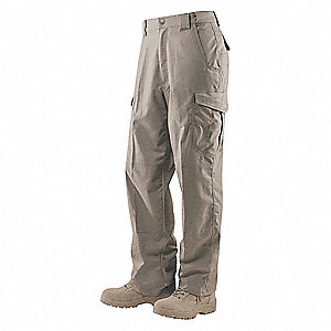 "Men's Tactical Pants. Size: 34"", Fits Waist Size: 33"" to 35"", Inseam: 32"", Khaki"