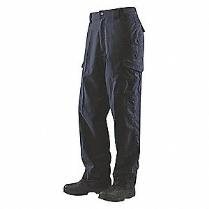 "Men's Tactical Pants. Size: 44"", Fits Waist Size: 43"" to 45"", Inseam: 34"", Navy"