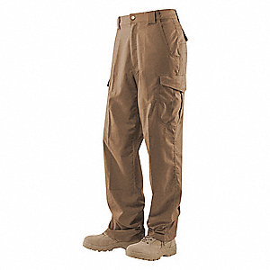 "Men's Tactical Pants. Size: 32"", Fits Waist Size: 31"" to 33"", Inseam: 30"", Coyote"