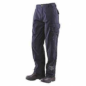 "Men's Tactical Pants. Size: 42"", Fits Waist Size: 41"" to 43"", Inseam: 30"", Dark Navy"