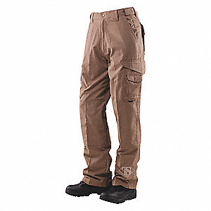 "Men's Tactical Pants. Size: 36"", Fits Waist Size: 35"" to 37"", Inseam: 34"", Coyote"
