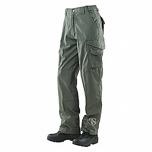 "Men's Tactical Pants. Size: 32"", Fits Waist Size: 31"" to 33"", Inseam: 30"", OD Green"
