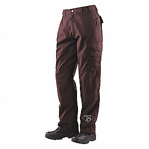 "Men's Tactical Pants. Size: 42"", Fits Waist Size: 41"" to 43"", Inseam: 30"", Brown"