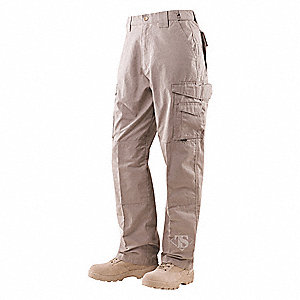 "Men's Tactical Pants. Size: 36"", Fits Waist Size: 35"" to 37"", Inseam: 37"", Khaki"