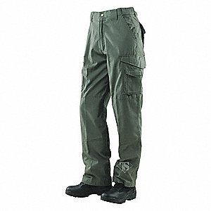 "Men's Tactical Pants. Size: 44"", Fits Waist Size: 43"" to 45"", Inseam: 30"", OD Green"