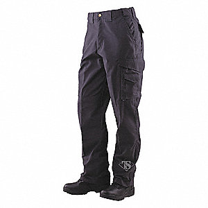 "Men's Tactical Pants. Size: 36"", Fits Waist Size: 35"" to 37"", Inseam: 30"", Black"