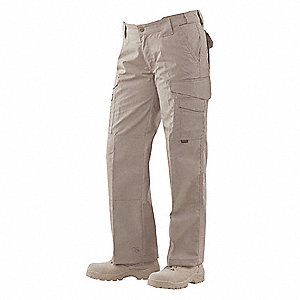 "Women's Tactical Pants. Size: 16, Fits Waist Size: 33"" to 34"", Inseam: 35"", Khaki"