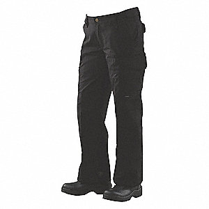 "Women's Tactical Pants. Size: 12, Fits Waist Size: 31"" to 32"", Inseam: 35"", Black"
