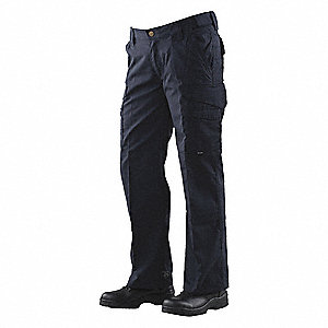 "Women's Tactical Pants. Size: 2, Fits Waist Size: 26"" to 27"", Inseam: 35"", Navy"