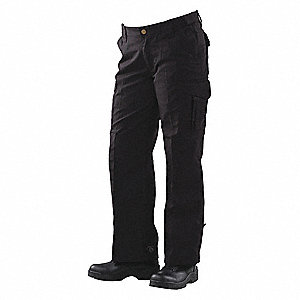 "Women's Tactical Pants. Size: 14, Fits Waist Size: 32"" to 33"", Inseam: 35"", Black"