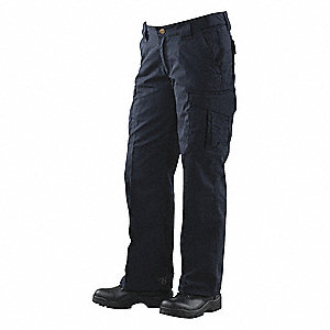 "Women's Tactical Pants. Size: 12, Fits Waist Size: 31"" to 32"", Inseam: 35"", Navy"