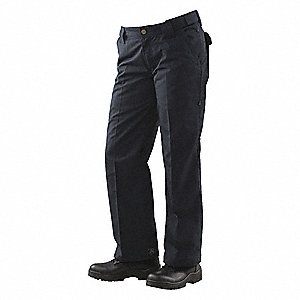 "Women's Tactical Pants. Size: 16, Fits Waist Size: 33"" to 34"", Inseam: 35"", Navy"