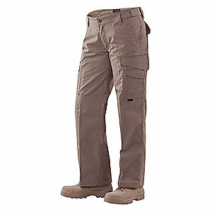 "Women's Tactical Pants. Size: 4, Fits Waist Size: 27"" to 28"", Inseam: 32"", Coyote"