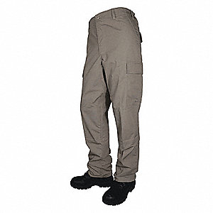 "Men's Tactical Pants. Size: M/32, Fits Waist Size: 32"" to 34"", Inseam: 32"", Khaki"
