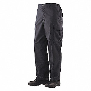 "Men's Tactical Pants. Size: M/32, Fits Waist Size: 32"" to 34"", Inseam: 34"", Black"