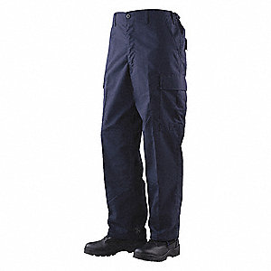 "Men's Tactical Pants. Size: R/36, Fits Waist Size: 36"" to 38"", Inseam: 32"", Navy"