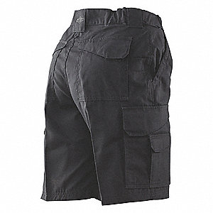 "Tactical Shorts,Size 46"",Black"