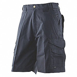 "Tactical Shorts, Size 42"", Navy"