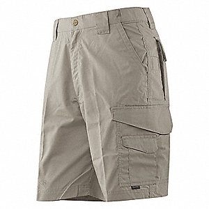 "Tactical Shorts,Size 46"",Khaki"