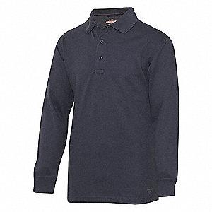 Mens Tactical Polo,Size XS,Navy