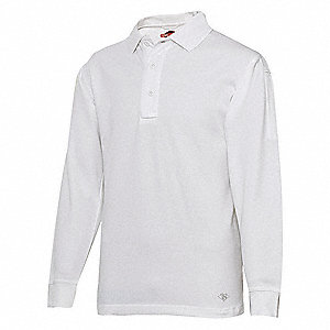 Mens Tactical Polo,Size L,White
