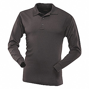 Womens Tactical Polo,Size S,Black Color