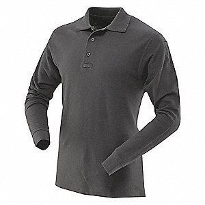 Mens Tactical Polo,Size 4XL,Black