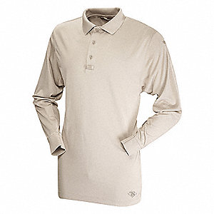 Mens Tactical Polo, Size M, Gray