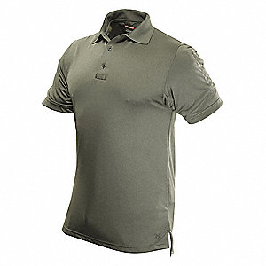 Mens Tactical Polo,Size 4XL,White