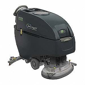 Floor Scrubber,Walk-Behind,Disc Deck
