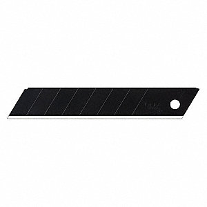 "4-7/16"" x 18mm Carbon Steel Ultra Sharp Snap-Off Blade; PK100"