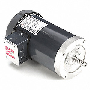 2 HP General Purpose Motor,3-Phase,3450 Nameplate RPM,Voltage 230/460,Frame 56C