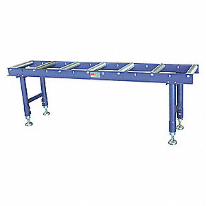 Roller Stand,Gray,1544 lb. Capacity