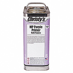 Purple Primer, Multi Purpose, Size 128 oz., For Use With PVC, CPVC and ABS Pipe