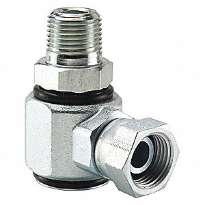 "Hyd Fitting, 3/4""-14 MNPTFx3/4""-14 F NPSM"