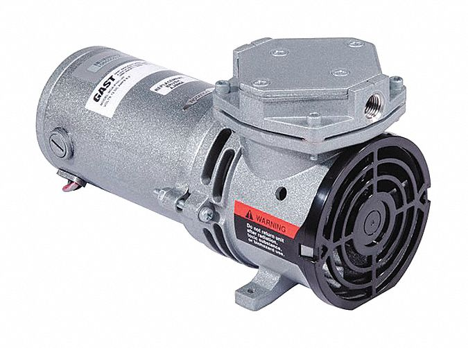 1/16 hp HP Diaphragm Compressor/Vacuum Pump